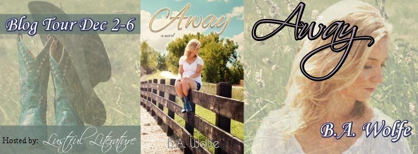 Away by B.A. Wolfe Blog Tour Banner