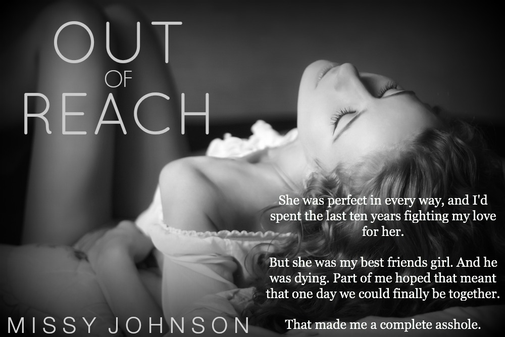 *~*Out Of Reach By Missy Johnson Cover Reveal*~