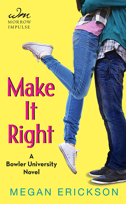 *~*Make It Right by Megan Erickson Blog Tour – Review & Giveaway*~*
