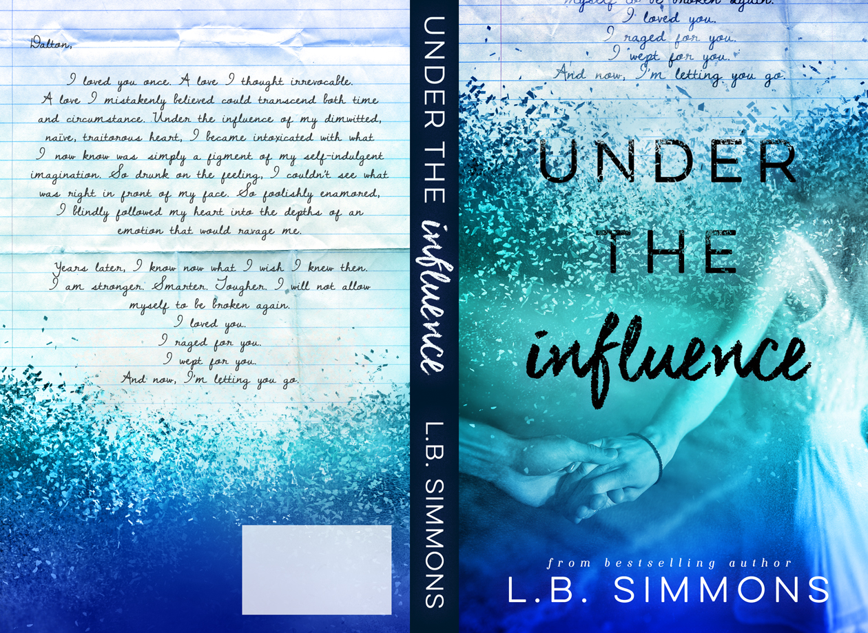 under the influence by l b simmons cover reveal. Black Bedroom Furniture Sets. Home Design Ideas