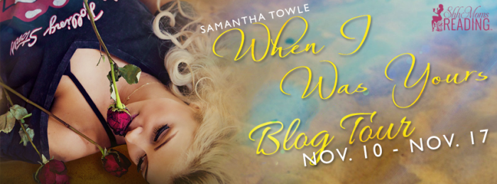 When I Was Yours Blog Tour Banner