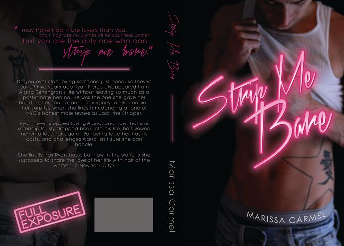 Strip Me Bare by Marissa Carmel Cover Re-Reveal & Excerpt*~*